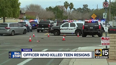 Victim family's lawyer responds to Tempe officer's resignation after deadly shooting