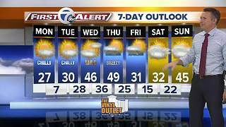 7 First Alert Forecast - 2/12 5 a.m. - Video