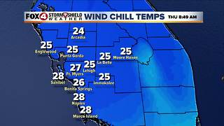 Freeze Watches and Wind Chill Advisories issued for SWFL - Video