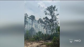 Brush fires continue to increase amid extreme dry conditions in SWFL
