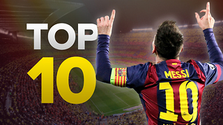 Top 10 Champions League Goalscorers of All-Time - Video