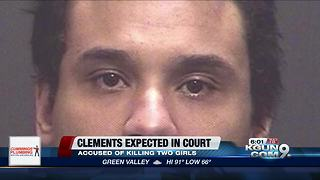 Clements expected to make first appearance in court since indictment