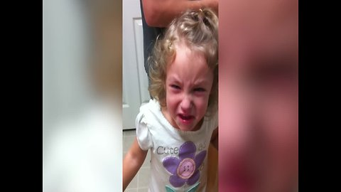 Cute Little Girl Learns that Jalapeños are Spicy the Hard Way