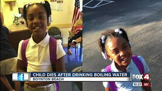 Girl, 8, dies months after drinking boiling water on a dare - Video