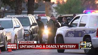 Three dead, suspect hospitalized after officer-involved shooting in Phoenix - Video