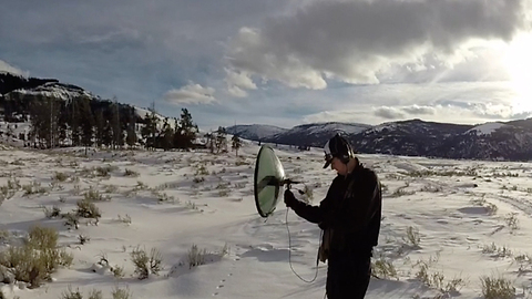 Team fights elements to preserve sounds in national parks
