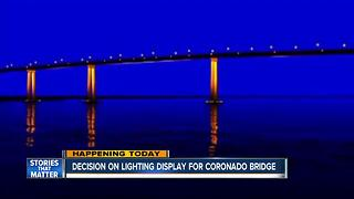 Coronado bridge could receive LED lighting upgrade - Video