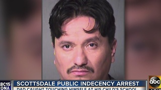 Man arrested for public idecency in Scottsdale - Video