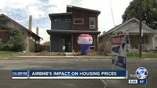 Airbnb's impact on housing prices in Denver - Video