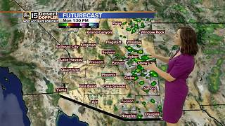 Sunny skies ahead after rainy weekend - Video