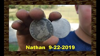 Metal Detecting - Digging Two Awesome Silvers