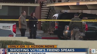 Victim's friend speaks out after Twain, Swenson shooting - Video