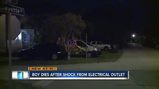 Florida boy dies after being shocked by electrical outlet, police say - Video
