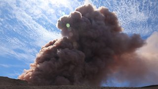 Hawaiian Volcano Eruption Releases Toxic 'Vog' Into The Air - Video