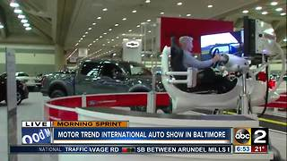 Motor Trend International Auto Show comes to BaltimoreTest drive your next car or look at the latest in automotive technology at the Motor Trend International Auto Show in Baltimore this weekend. - Video