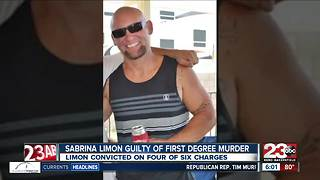 Sabrina Limon found guilty of first degree murder - Video