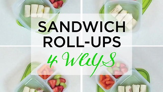 Sandwich Roll-Ups 4 Ways - Video