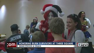 Three Square honors burn survivors - Video