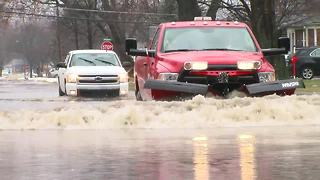 Flooding in Dearborn Township - Video