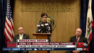 Kern County Supervisor facing conflict of interest charges