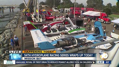 54th hydroplane racing series wraps up Sunday
