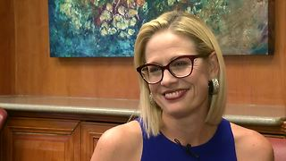 EXTENDED INTERVIEW: Senate Candidate Kyrsten Sinema - Video