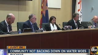 Buckeye council votes to lower some water rates, but confusion remains - Video