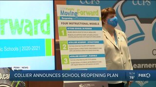 Collier County Public Schools announce reopening plans