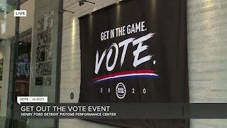 Get In The Game Voting Event