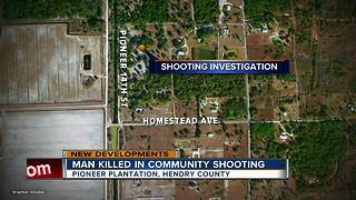 Man killed in Clewiston shooting - Video