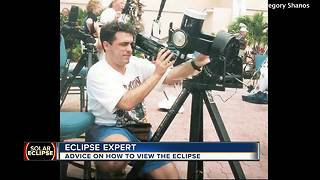 Solar eclipse tips from Sarasota astronomer - Video