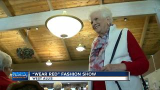 'Wear Red' Fashion show celebrates a day to support women's heart health - Video