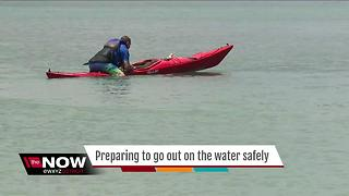 Crews continue search for metro Detroit kayaker missing in Lake Huron - Video