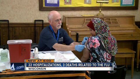 Three people have already died from the flu this season