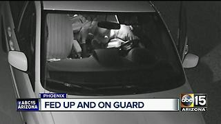 North Phoenix neighborhood fed up with car burglaries - Video