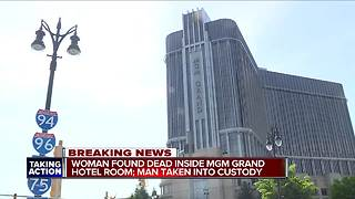 Woman found dead inside Detroit's MGM Grand hotel