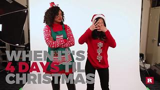 Generation Gap's countdown to Christmas: 4 Days - Video