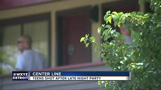 Police investigating double shooting in Center Line - Video