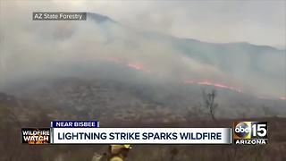 Deadly Valley accidents; Lightning sparks Bisbee wildfire; breezy, hot weather across state - Video
