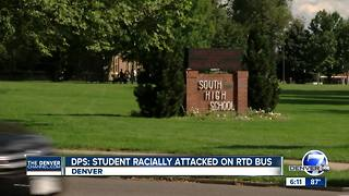 RTD passengers defend black DPS student from race-based attack, superintendent says - Video