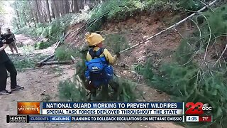 National Guard working to prevent wildfires