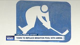 Town wants to replace Brighton Pool with arena