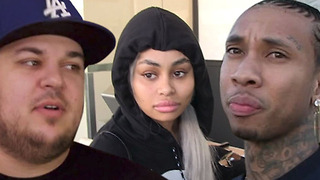 Rob Kardashian and Tyga TEAMING UP Against Blac Chyna For Custody Of Children!