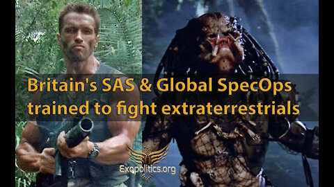 Britain's SAS & Global Special Operators trained to fight extraterrestrials