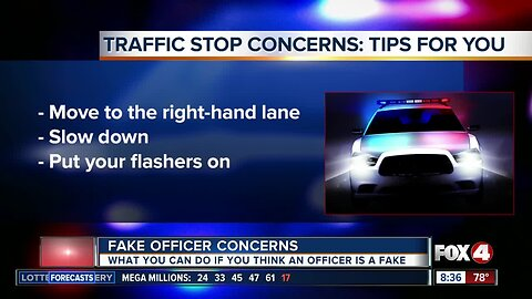 What to do if you're not sure the officer pulling you over is a real cop