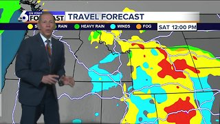 A Rainy Friday but a Dry Weekend