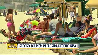 Florida sees record tourism numbers despite Hurricane Irma - Video