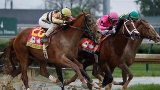 Shocker finish at Kentucky Derby