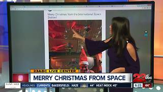 Christmas from outer space - Video