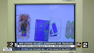 Department of Homeland Security demanding enhanced security for international flights - Video